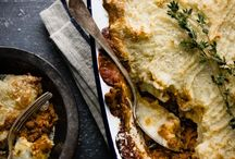 Savoury tarts / pies