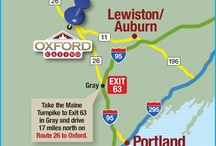 How do you get to Oxford Casino!? / Oxford Casino, located in the heart of southern Maine, just minutes from Exit 63 off the Maine Turnpike is your destination for wicked good fun.