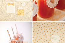 Orange Wedding Inspiration / by MagnoliaRouge
