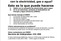Problemas con Bills / Having trouble with your gas, electricity, water, phone or mortgage? Here is information to help you find the right assistance.