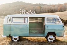 Knox Photo Bus / The Knox Photo Bus is a photo booth in a vintage VW bus in Knoxville, Tennessee, for events and Knoxville weddings.