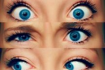 Рисунки глаз. Pictures of eyes.