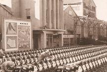 """Kia historie / Wist je dat Kia in 1944 is begonnen met het maken van fietsen en bromfietsen? Pas in de jaren 60 werden de eerste auto's gefabriceerd en in 1993 zette Kia voor het eerst """"Wiel aan wal"""". Lees meer over de historie van Kia Motors http://www.kia.com/nl/modellen/historie/ / by Kia Motors Nederland"""