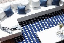 Harbour Outdoor Accessories / The right accessories can bring an exterior space to life. Our wide array of colorful outdoor rugs and Sunbrella throw pillows and lights can provide the sparkle necessary to make your sanctuary shine.