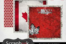 Country Sightseeing  / Digital Downloads for Scrapbooking