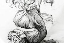Coisas/criaturas do oceano