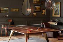 Modern Ping Pong Table