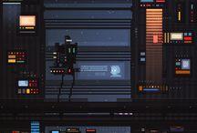 cyberpunk / sci-fi