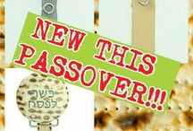 New this Passover / Make your child's Passover special with these new Passover Pacifier Clips