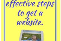 Getting online (Website) / Information for getting your website up and running.