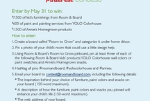 Room to Grow / How I would re-imagine my child's room with American-made furniture from Room & Board, child-safe paints from YOLO Colorhouse and natural snacks from Annie's Homegrown / by Kathryn Dowell