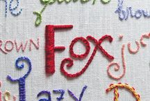 Embroidery : Cross stitch : sewing