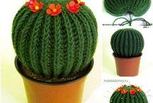 cactus en crochet!