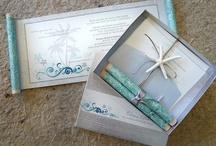 Scroll invitations / Invitations
