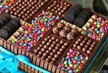 çikolatalar / tatlı sürprizler