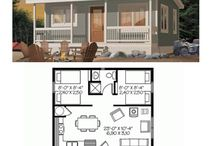 House and cabin floor plans