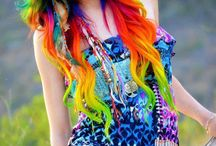 haircolours and styles