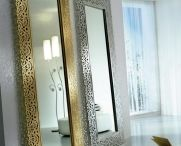 SPECCHI VERTICALI / Idee e proposte per la decorazione della vostra casa con originalI specchi verticali. www.decorazioneonline.it