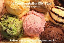 #CoolTreatsBurlON / Tourism Burlington set up to find some of the coolest treats to enjoy in Burlington, Ontario