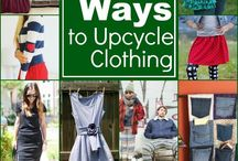Upcycling / Ways to upcycle clothes from the Charity Shop