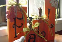 Seasons: Fall / Seasonal decor for fall, including holiday ideas