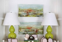 Art for the Home | Melissa Payne Baker / Fun ways to hang your art!