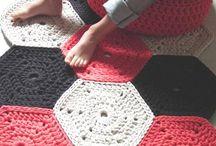 alfombras tejidas