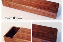 Chop stick box / Wooden chop stick box