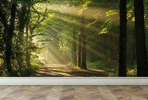 stromy tapety