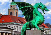 Slovenija - My Heritage, Beautiful Ljubljana My Birth Place / Slovenija