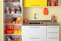 cozinha e organização