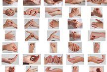 Mãos e braços