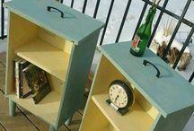 cajones reciclados