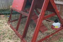 kümes chicken coop