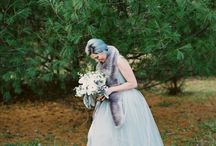 Cool Blue Winter Wedding Styling