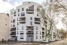 """Logements collectifs """"le contemporain"""" Villeurbanne 69 - Diagonale"""