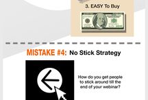 Webinar Marketing - Infographics / How to launch a successful webinar event and best practices / by SuperFastBusiness