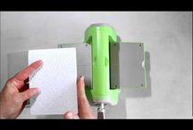 Crafts: Cuttlebug-Big Shot-Grand Caliber / by Cindy Hehmann