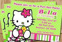 Ellie`s Hello Kitty Birthday / by Candi Clark