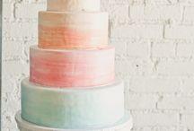 Watercolor & pastels