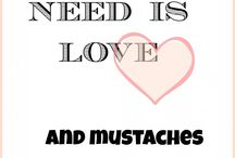 Mustaches!