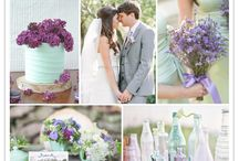 Wedding Inspo mint & Lavender