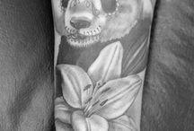 panda tatto design