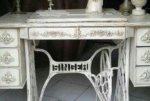 Dikiş makinası boyama