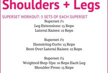 New workout- april / Supersets