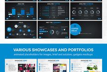 Presentation templates / Powerpoint / Keynote / Tools / Professional Presentation / Business / Templates / Easy To Edit Design