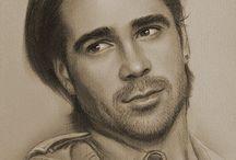 Art of Actors & drawings  / by Carole C Dixon