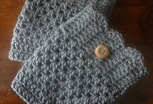 Knitting / crocheting / Boot cuffs
