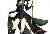 Female Loki Cosplay Inspiration