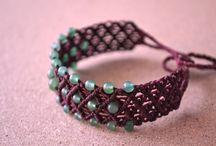 jewelry, macramé, kumihimo / by Sonia